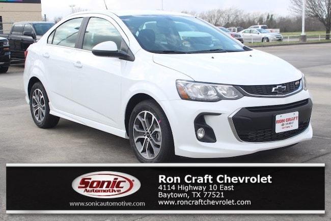 New 2019 Chevrolet Sonic LT Auto Sedan for sale near Houston in Baytown