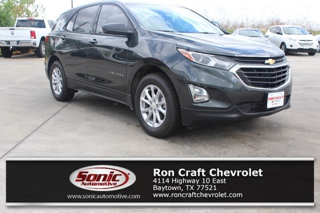 New 2019 Chevrolet Equinox LS SUV for sale near Houston in Baytown