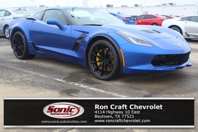 New 2019 Chevrolet Corvette Z06 Coupe for sale near Houston in Baytown