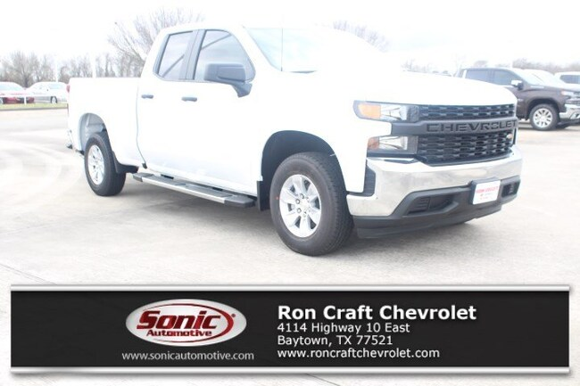 New 2019 Chevrolet Silverado 1500 Work Truck Truck Double Cab for sale near Houston in Baytown