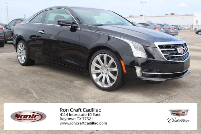 Used 2019 CADILLAC ATS 2.0L Turbo Luxury Coupe for sale in Houston