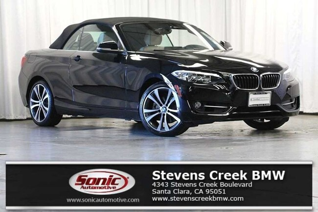 Certified Used 2016 BMW 228i Convertible near San Jose