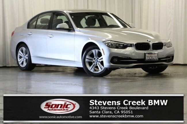 Used 2016 BMW 328i w/SULEV Sedan for sale in Santa Clara, CA
