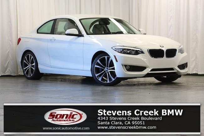 Certified Used 2015 BMW 228i Coupe near San Jose