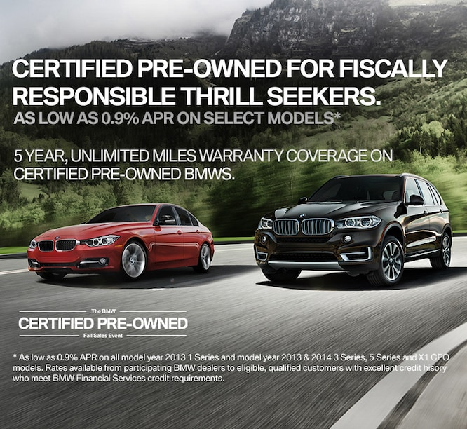 Bmw Pre Owned >> Certified Pre Owned Bmw Specials In Santa Clara Near San Jose