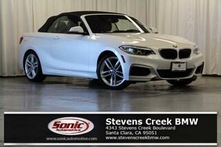 Certified 2016 BMW 228i Convertible near San Jose