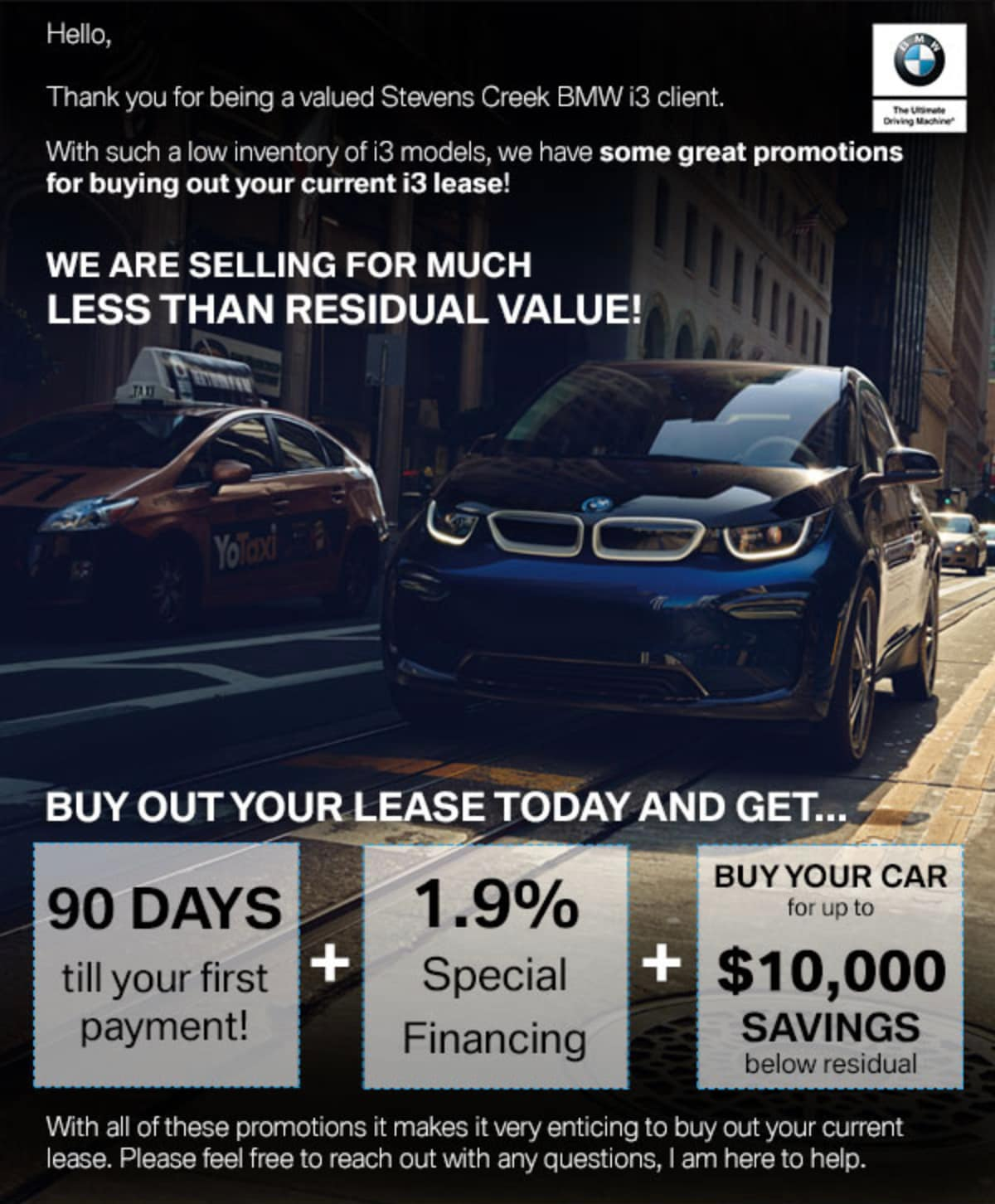 Stevens Creek Bmw Service >> Bmw Lease Buy Out Promotions Stevens Creek Bmw