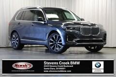 New 2019 BMW X7 xDrive40i SUV for sale in Santa Clara