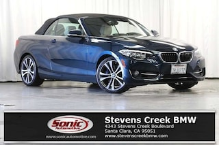 Used 2016 BMW 228i Convertible for sale in Santa Clara, CA
