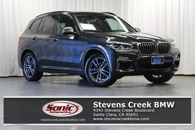 New 2019 BMW X3 M40i SAV for sale in Santa Clara, CA
