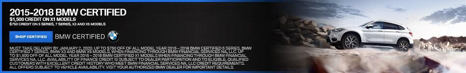 2015-2018 BMW CERTIFIED