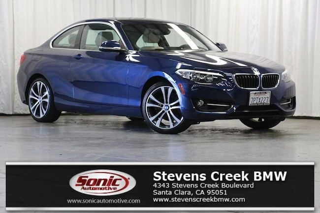 Certified Used 2016 BMW 228i w/SULEV Coupe near San Jose