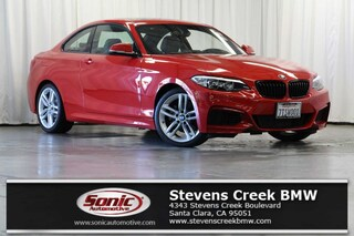 Used 2016 BMW 228i w/SULEV Coupe for sale in Santa Clara, CA