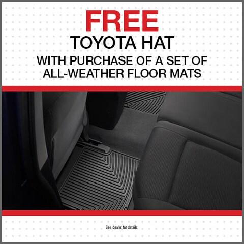 Free Toyota Hat