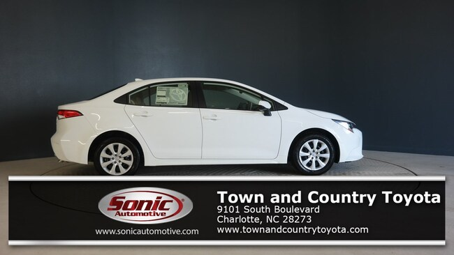 Town And Country Toyota >> New 2020 Toyota Corolla For Sale In Charlotte Nc Stock Lj023439