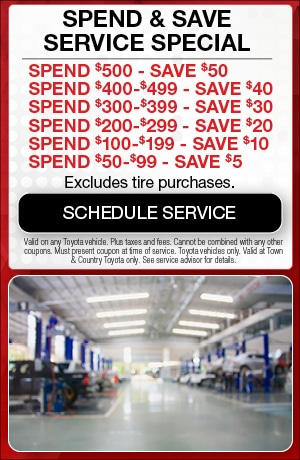 Spends & Save Service Special
