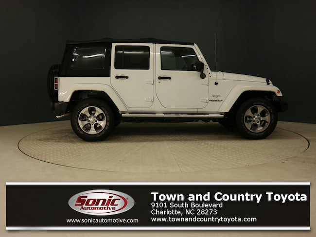 Used 2016 Jeep Wrangler JK Unlimited Sahara 4WD 4dr SUV for sale in Charlotte, NC
