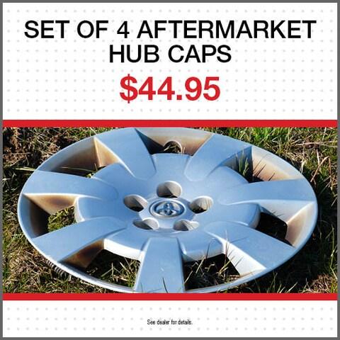 Set of 4 Aftermarket Hub Caps