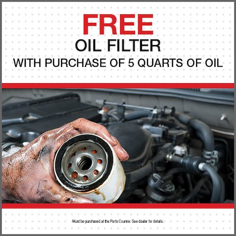 Free Oil Filter