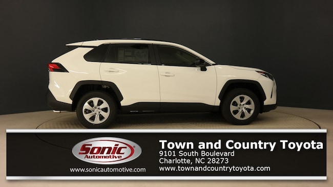 New 2019 Toyota RAV4 LE SUV for sale in Charlotte, NC