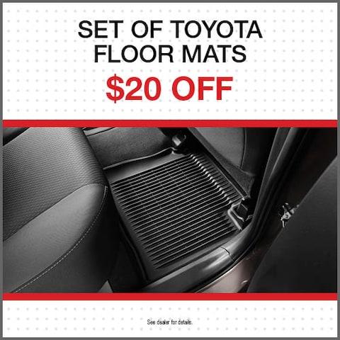 Set of Toyota Floor Mats