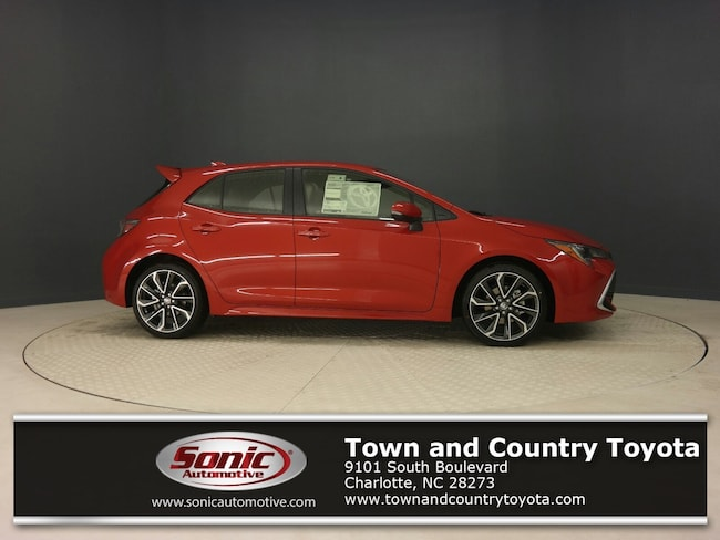 Town And Country Toyota >> New 2019 Toyota Corolla Hatchback For Sale In Charlotte Nc Stock