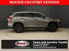 New 2019 Toyota Highlander XLE V6 SUV for sale in Charlotte, NC