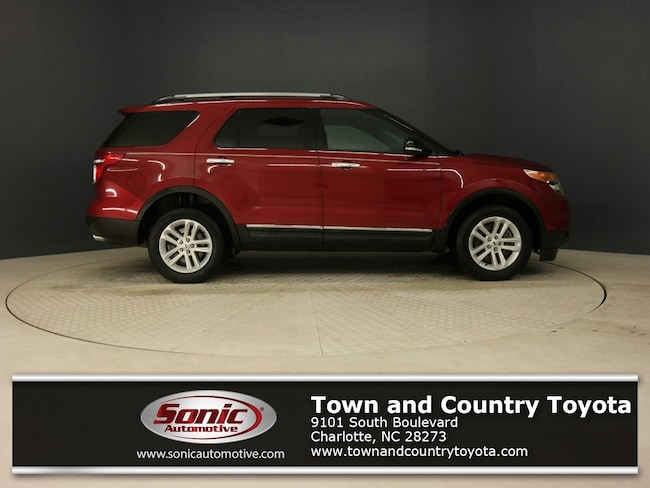 Used 2014 Ford Explorer XLT 4WD 4dr SUV for sale in Charlotte, NC