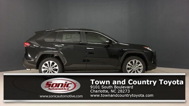 New 2019 Toyota RAV4 Limited SUV for sale in Charlotte, NC