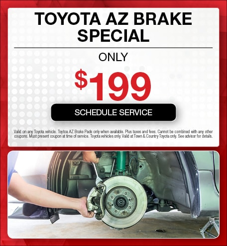 Toyota AZ Brake Special