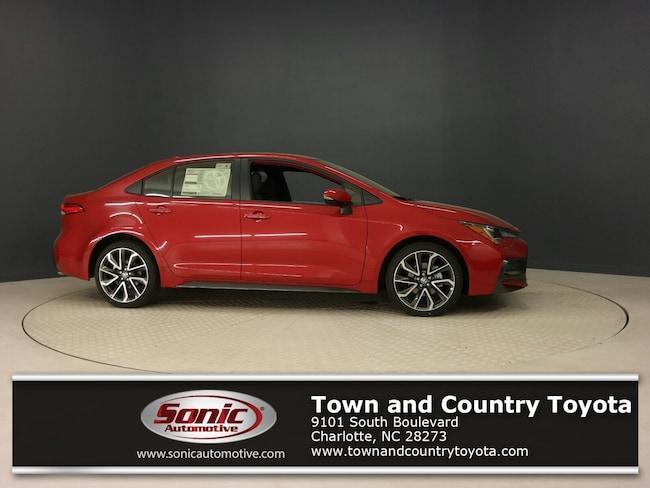 New 2020 Toyota Corolla SE Sedan for sale in Charlotte, NC