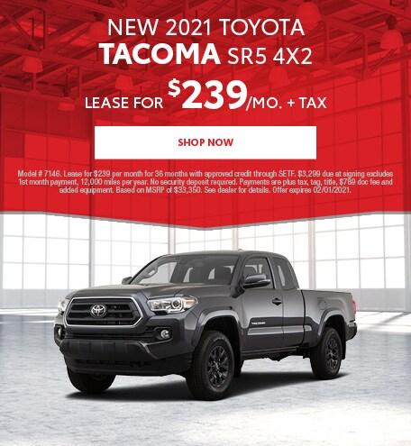 New 2021 Toyota Tacoma SR5 4x2