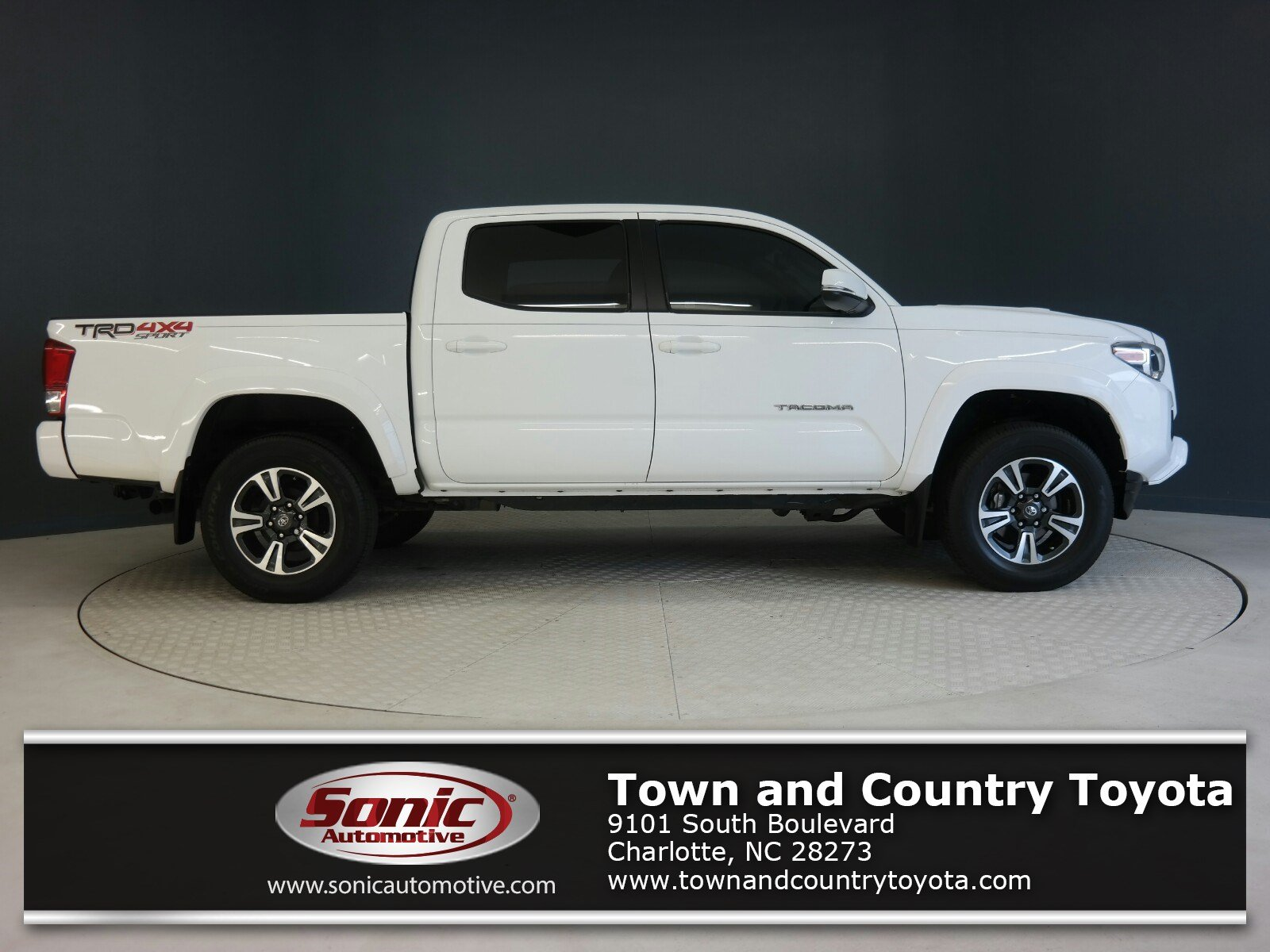 2017 Toyota Tacoma TRD Sport  Double Cab 5 Bed V6 4x4 AT Natl Truck Double Cab