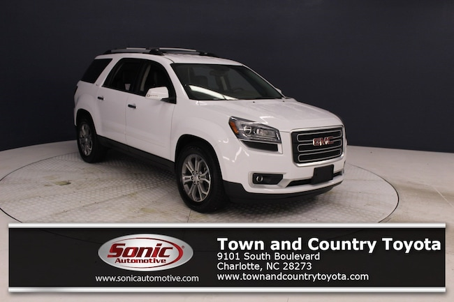 Used 2016 GMC Acadia SLT AWD 4dr  w/-1 SUV for sale in Charlotte, NC
