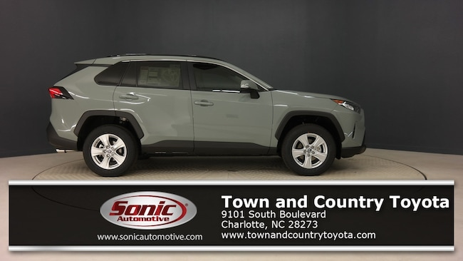 New 2019 Toyota RAV4 XLE SUV for sale in Charlotte, NC