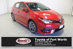 New 2018 Toyota Corolla iM Base Hatchback in Fort Worth
