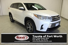 New 2017 Toyota Highlander LE I4 SUV in Fort Worth