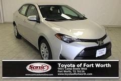New 2018 Toyota Corolla LE Sedan in Fort Worth