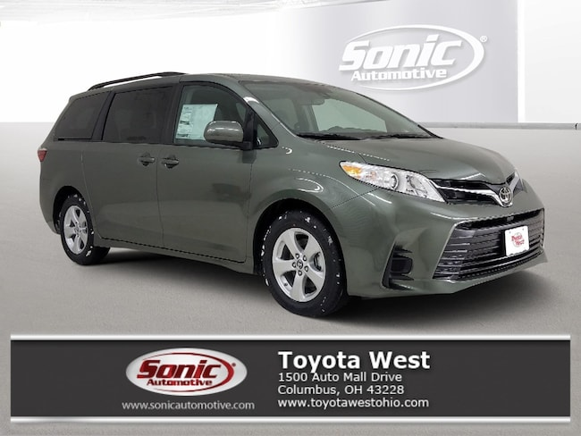New 2019 Toyota Sienna LE 7 Passenger Auto Access Seat Van in Columbus, OH