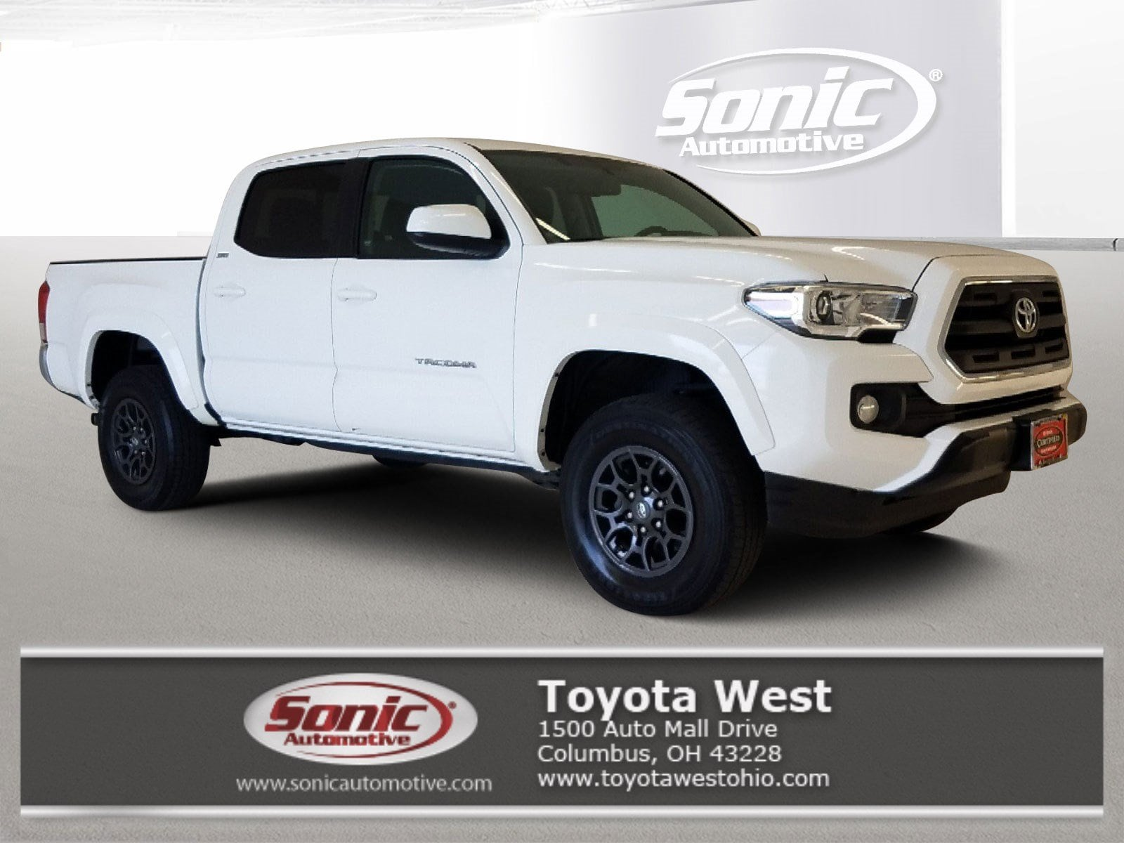 2017 Toyota Tacoma SR5  Double Cab 5 Bed V6 4x4 AT Natl Truck Double Cab