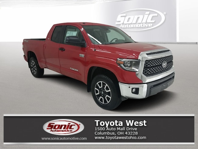 New 2019 Toyota Tundra SR5 5.7L V8 w/FFV Truck Double Cab in Columbus, OH