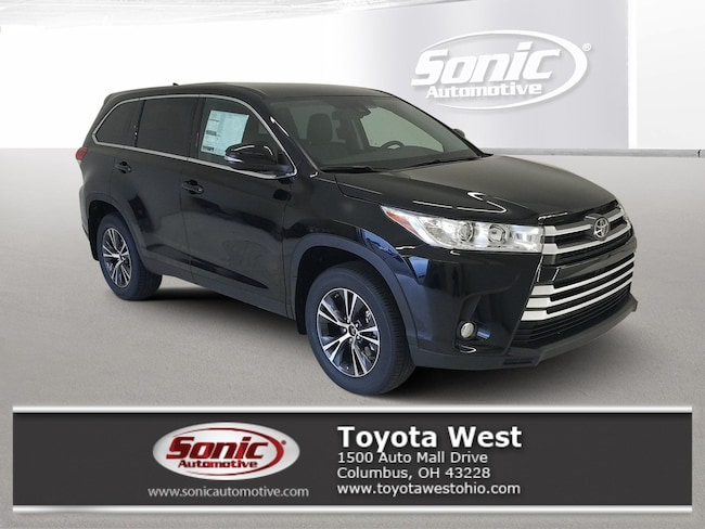 New 2019 Toyota Highlander LE Plus V6 SUV in Columbus, OH