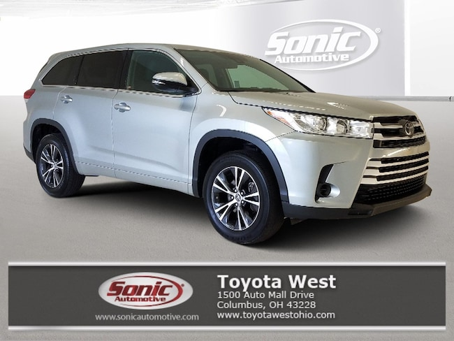 Used 2018 Toyota Highlander LE  V6 FWD Natl SUV in Columbus, OH