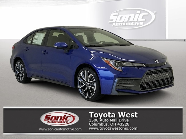 New 2020 Toyota Corolla XSE Sedan in Columbus, OH