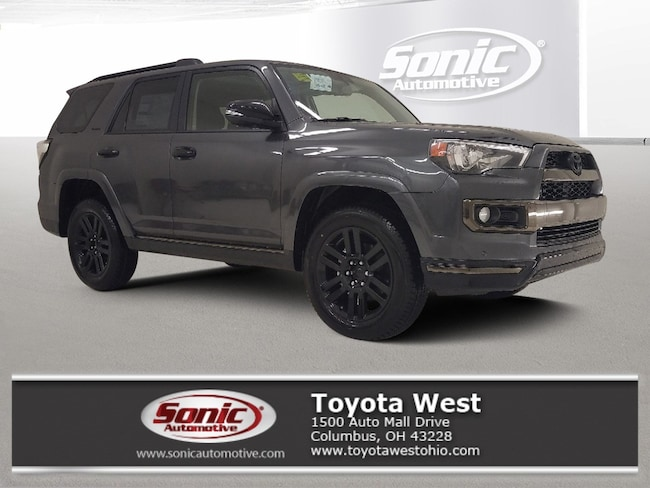 New 2019 Toyota 4Runner Limited Nightshade SUV in Columbus, OH