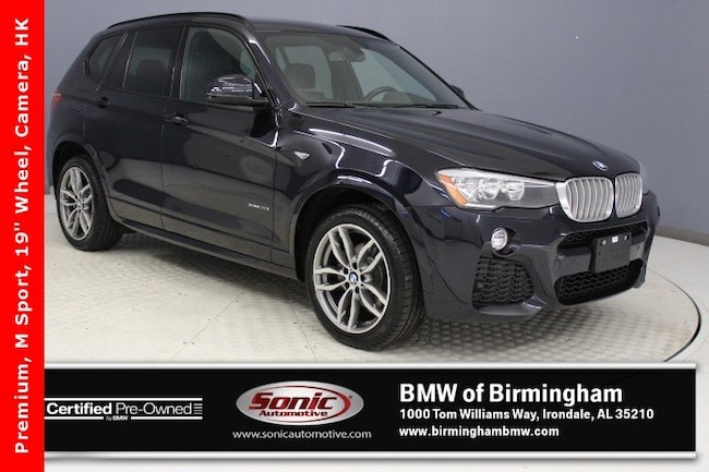 Certified Pre-Owned 2016 BMW X3 xDrive28i SAV for sale in Irondale, AL