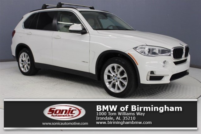 Certified Pre-Owned 2016 BMW X5 sDrive35i SAV for sale in Irondale, AL
