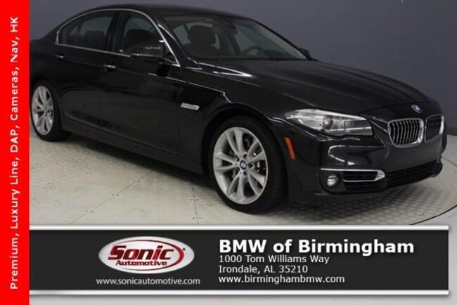 Used 2016 BMW 535i Sedan for sale in Irondale, AL