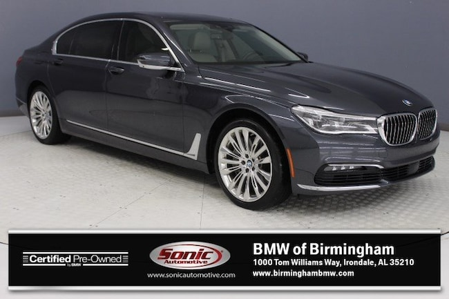 Certified Pre-Owned 2016 BMW 750i xDrive Sedan for sale in Irondale, AL