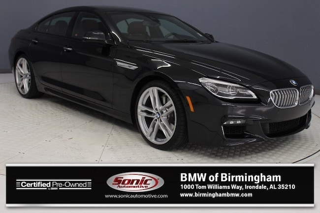 Certified Pre-Owned 2016 BMW 650i Gran Coupe for sale in Irondale, AL